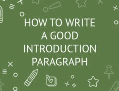How to Write a Dissertation Chapter - Introduction