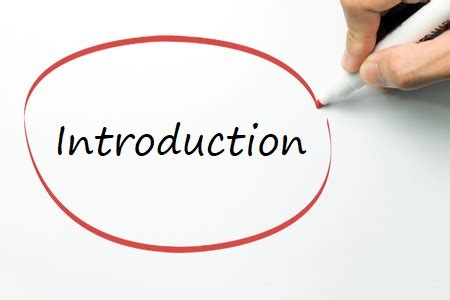 How to Write an Introduction Paragraph - Professional Writing